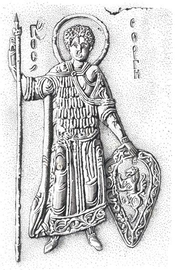 Святой георгий с гербом Владимиро-Суздальских князей